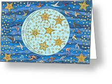 Night Flight Greeting Card