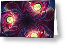 Night Flower Greeting Card