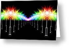 Night Light Panoramic Greeting Card