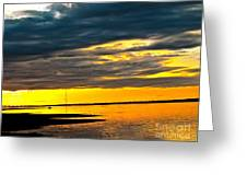 Night Meets Day Greeting Card by Q's House of Art ArtandFinePhotography