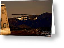 Night Mission Greeting Card