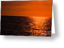 Night On Fire Greeting Card
