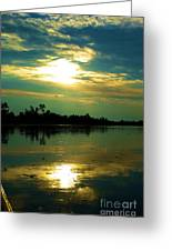 Night On The Water Greeting Card