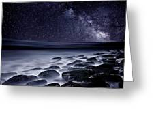 Night Shadows Greeting Card