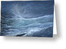 Night Storm Greeting Card