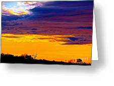 Night Thinks Of Day Greeting Card by Q's House of Art ArtandFinePhotography