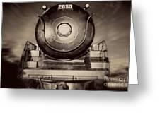 Night Train Greeting Card