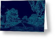 Night View  Greeting Card