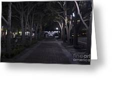 Night View Greeting Card