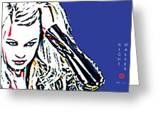 Night Walker Poster Greeting Card