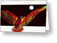 Night Watch Greeting Card