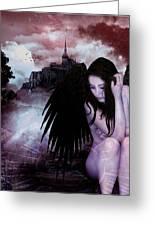 Night Watcher Greeting Card