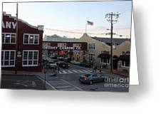 Nightfall Over Monterey Cannery Row California 5d25146 Greeting Card