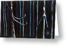 Nightfall Secret Greeting Card