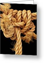 Nightmare Knot Greeting Card