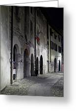 Nightscape. Iseo Greeting Card