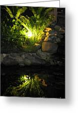 Nighttime Reflection Greeting Card