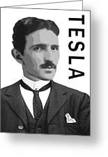 Nikola Tesla 2 Greeting Card
