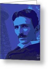 Nikola Tesla #2 Greeting Card