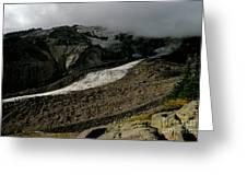 Nisqually Glacier Greeting Card