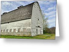 Nisqually National Wildlife Refuge Barn Greeting Card
