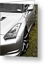 Nissan Gtr Greeting Card by Phil 'motography' Clark