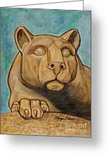 Nittany Lion Greeting Card