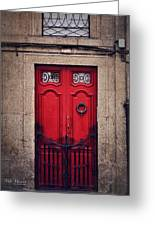 No. 24 - The Red Door Greeting Card