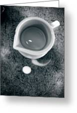 No Cream For My Coffee Greeting Card by Bob Orsillo