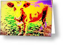 No Mercy For The Cow, They Say, But Why Not  Greeting Card