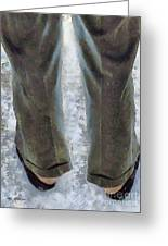 No Socks In The Snow Greeting Card