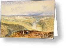 No.0572 Richmond, Yorkshire, C.1825-28 Greeting Card