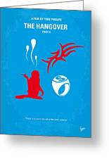 No145 My The Hangover Part 2 Minimal Movie Poster Greeting Card