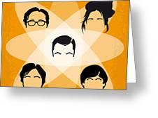 No196 My The Big Bang Theory Minimal Poster Greeting Card by Chungkong Art