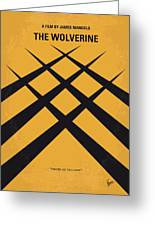 No222 My Wolverine Minimal Movie Poster Greeting Card