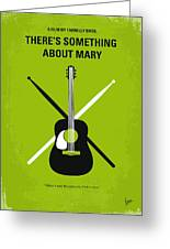 No286 My There's Something About Mary Minimal Movie Poster Greeting Card