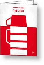 No350 My The Jerk Minimal Movie Poster Greeting Card