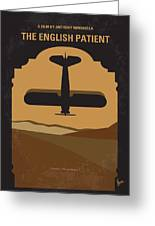 No361 My The English Patient Minimal Movie Poster Greeting Card