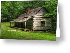 Noah Ogle Cabin Greeting Card