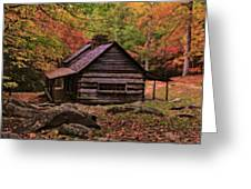 Noah Ogle Place In The Smoky Mountains Greeting Card