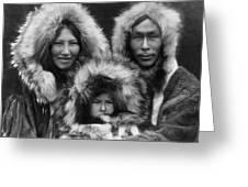Noatak Indians Circa 1929 Greeting Card