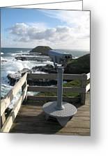 The Nobbies Outlook - Great Ocean Road, Australia Greeting Card