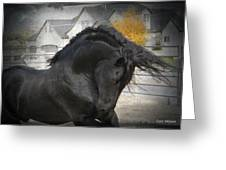 Nobility Greeting Card by Royal Grove Fine Art