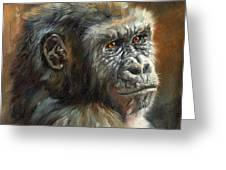 Noble Ape Greeting Card