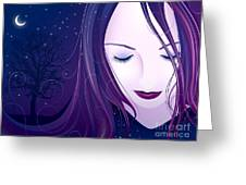 Nocturn Greeting Card