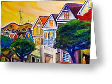 Noe Valley  Greeting Card