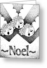 Noel Angels Greeting Card