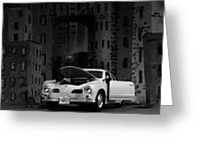 Noir City Greeting Card