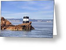 Noirmont Point Tower - Jersey Greeting Card