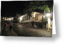 noite em Minas Gerais Greeting Card by Maria Akemi  Otuyama